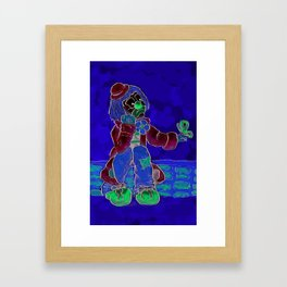 Lonely Boy Framed Art Print