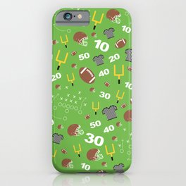 Football Cheers iPhone Case