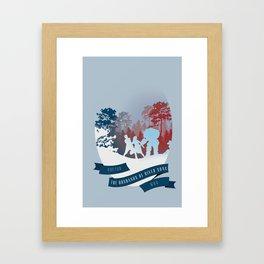 The Husbands of River Song   Doctor Who Framed Art Print