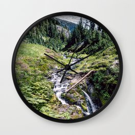 Spring Runoff Wall Clock
