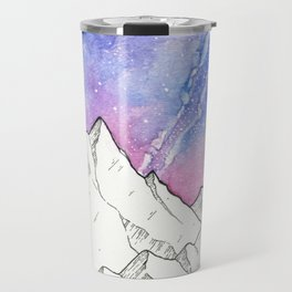 Mountains in the Evening Travel Mug