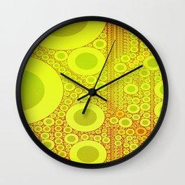 Kringles Citrus Design Wall Clock