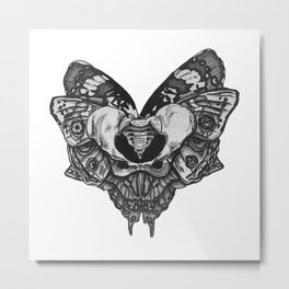 P E L V I S  Metal Print