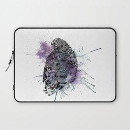 Patterned Quail Laptop Sleeve