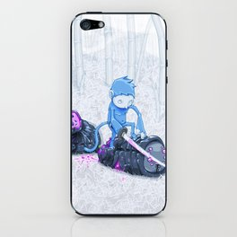 Samurai Monkey iPhone Skin