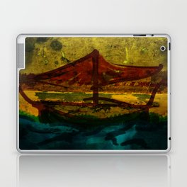 An ancient ship Laptop & iPad Skin