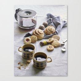 FIKA - The Swedish Art of Drinking Coffee Canvas Print