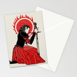 Sword Stationery Cards