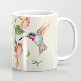 hummingbirds & morning glories Coffee Mug
