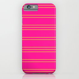 Simple Lines Pattern yp iPhone Case
