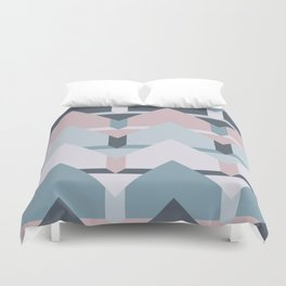 Scandi Waves #society6 #scandi #pattern Duvet Cover