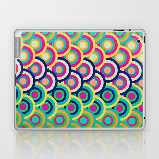 Circle colors Laptop & iPad Skin