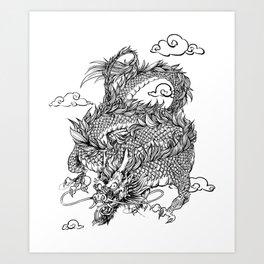 Padre's Dragon Art Print