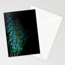 Peacock Details Stationery Cards