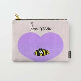 Bee Mine, Oh My Cliche Valentine Carry-All Pouch