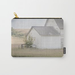 Church, Fort Clark, ND 5 Carry-All Pouch