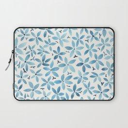 Blue Bouquet Laptop Sleeve