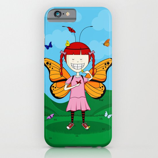 i heart butterflies iPhone & iPod Case