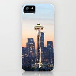 Space Needle Skyline Seattle iPhone Case