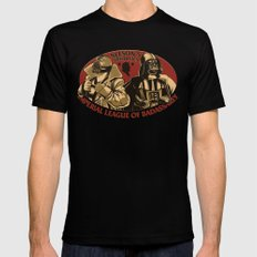 Neeson's Prodigies SMALL Black Mens Fitted Tee