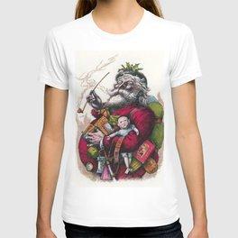 Victorian Santa Claus - Thomas Nast T-shirt