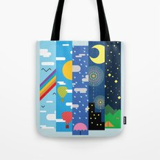 Skies Tote Bag