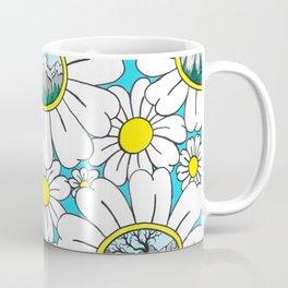 Road to Fernie Flowers Coffee Mug