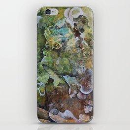 Green monster iPhone Skin