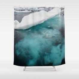 Iceberg 03 - Greenland Shower Curtain