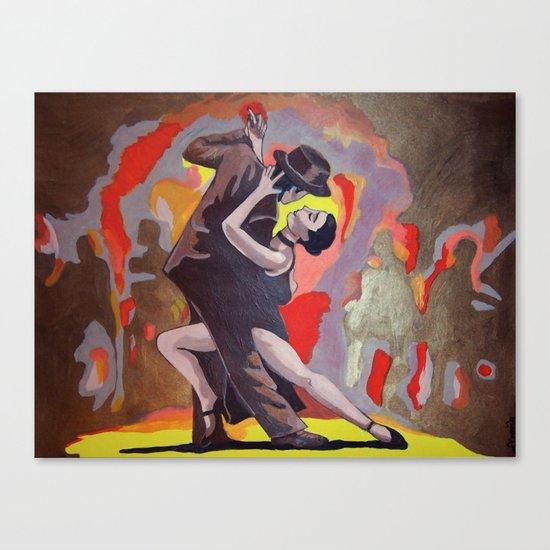 Tango Passion Canvas Print