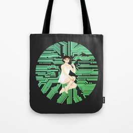 Lain, wired Tote Bag