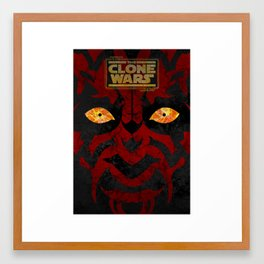Clone Wars Framed Art Print