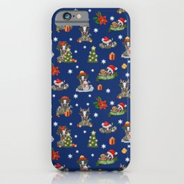 Christmas time - Frisian cow iPhone Case