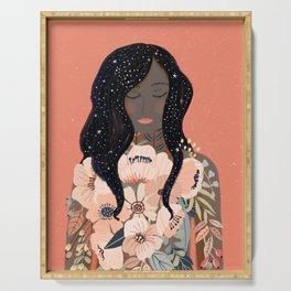 Self Love. Empower art Serving Tray