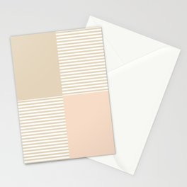 Dash in Tan Stationery Cards