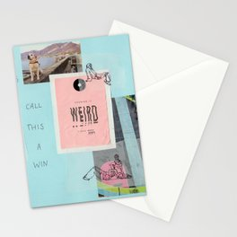 call this a win Stationery Cards