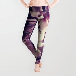 Pink peonies 5 Leggings