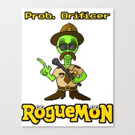 Prob. Orificer Canvas Print