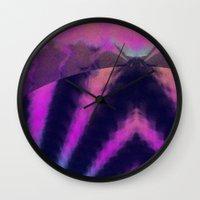 taurus Wall Clocks featuring taurus by donphil