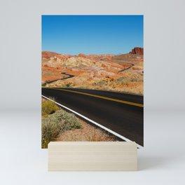 Valley of Fire, Nevada. Mini Art Print