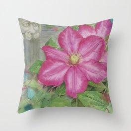 Maggie's Garden Throw Pillow