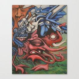 Stampede Canvas Print