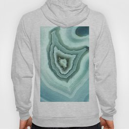The world of gems - light blue agate Hoody