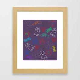 Trick or treat #3 Framed Art Print