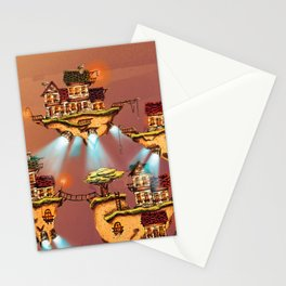 The floating islands Stationery Cards