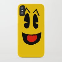 pacman iPhone & iPod Cases featuring Pacman  by Valiant