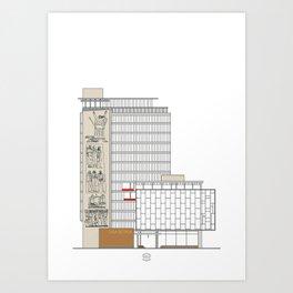Casa Italia Art Print