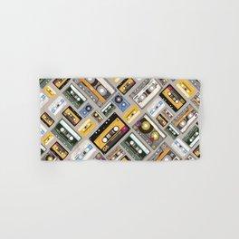 Retro cassette tape pattern 4 Hand & Bath Towel
