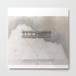 Wright Flyer Metal Print