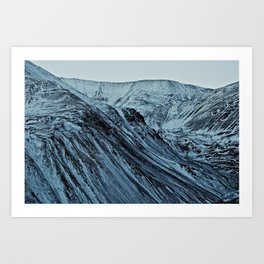Andes Art Print